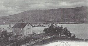 Fjaestads hus 1901. Från Höök. Arvika i gamla vykort