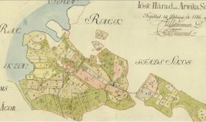 1786 delning inägor