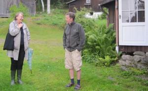 Monika Fjaestad och Per Albråten sommaren 2015