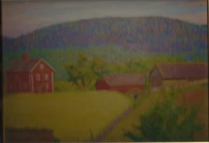 Fritiof Nilsson målade av Nordåsen