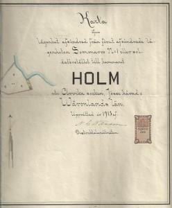 Karta 1913