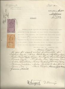 köpebrev 1933