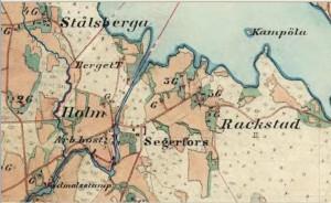 Häradsekonomiska kartan 1880-90-talet