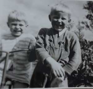 Börje och Jan-Erik, tidigt femtiotal