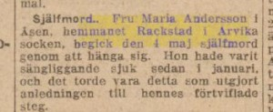 Svenska-tribunen-nyheter 23 juni 1920