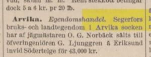 Svenska-tribunen 17 oktober 1885