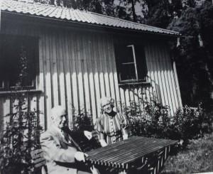 Lydia och Georg Sager på Höglunda