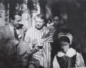Ture fyller år och uppvaktas av Rogne och hans hustru Vaikki