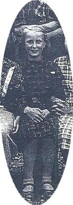 Marja Ander. Utsnitt från klassfoto Rackstadskolan 1937