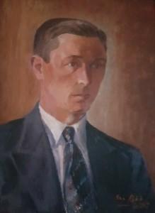 Ragnar Olofsson var mycket aktiv i styrelsen - tidvis både ordförande, kassör och sekreterare